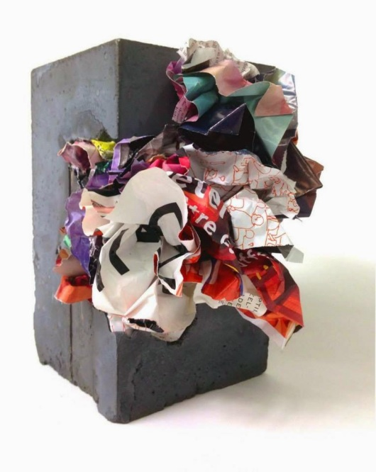 B)paper-crete+#40,+2014,+5in.x5in.8in.,paper+and+concrete